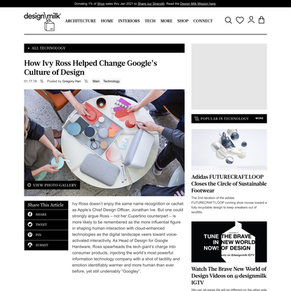 How Ivy Ross Helped Change Google's Culture of Design