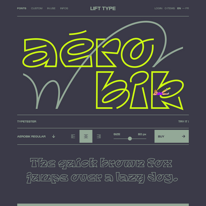 Aerobik — Lift Type