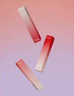 Package   Branding   Neker   Pastel   Box   Elegant   Bag   Gradient   Minimal   Pink   Modern   Colour   Beauty   PlusX