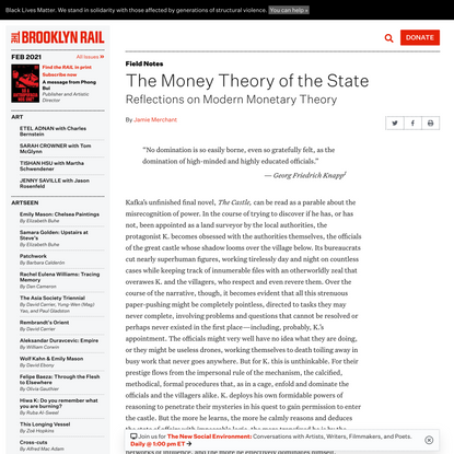 The Money Theory of the State