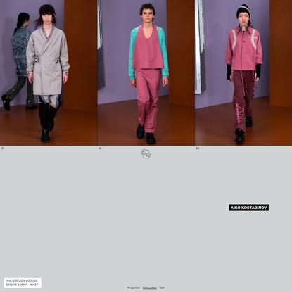 AW21 Menswear – Kiko Kostadinov
