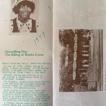 Groundhog Day: The Killing of Bonita Carter