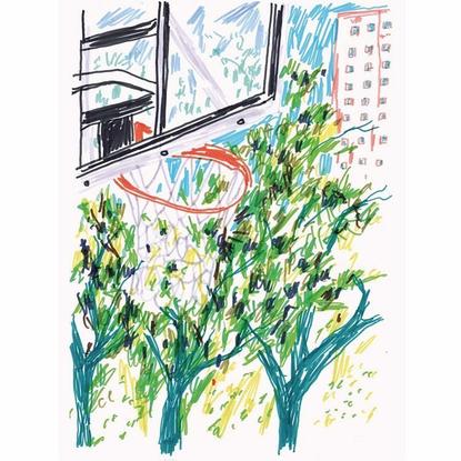 """FRANCHISE on Instagram: """"Hoop Dreams - Jan Robert Duennweller"""""""