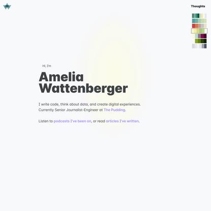 Amelia Wattenberger