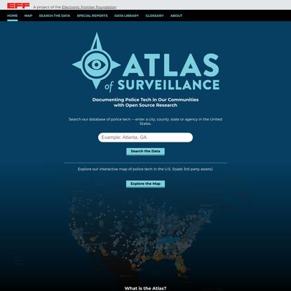 Atlas of Surveillance - Atlas of Surveillance