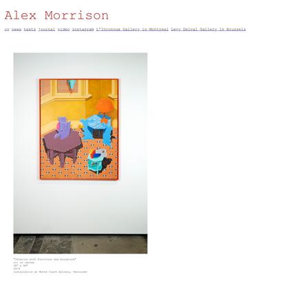 Alex Morrison