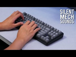 enjoying my silent mechanical keyboard