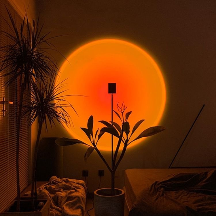 Sunset projection lamp