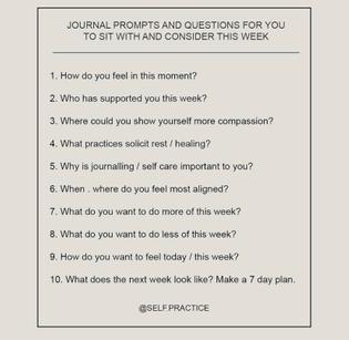Self Practice