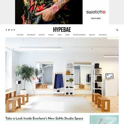 Take a Look Inside Everlane's New SoHo Studio Space