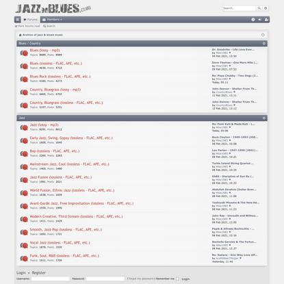 jazznblues.club - Archive of jazz & blues music