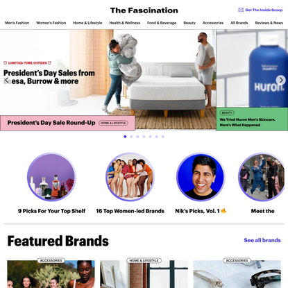 The Fascination – a new DTC Marketplace