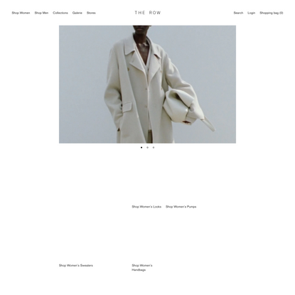 The Row | Official Website & Online Store