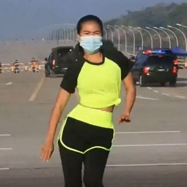 Myanmar coup: Fitness instructor unwittingly films video as takeover unfolds