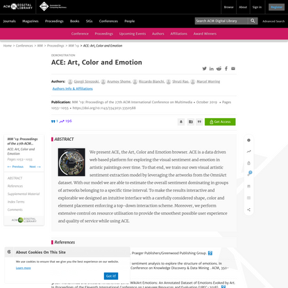 ACE | Proceedings of the 27th ACM International Conference on Multimedia