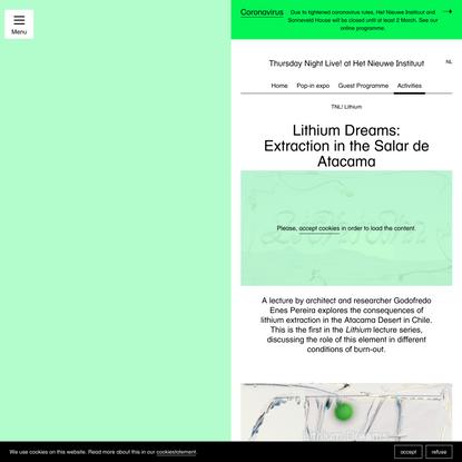 Lithium Dreams: Extraction in the Salar de Atacama