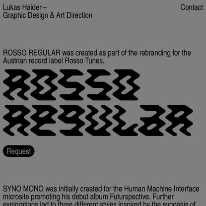 Type — Lukas Haider
