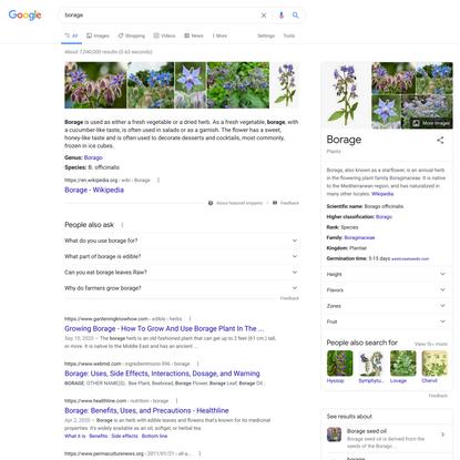borage - Google Search