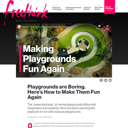 The Radically Inclusive Playground of the Future