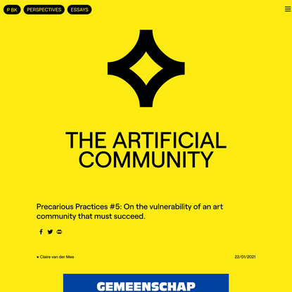 the-artificial-community