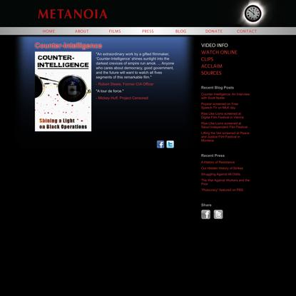 Counter-Intelligence | Metanoia Films
