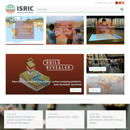 ISRIC-World Soil Information