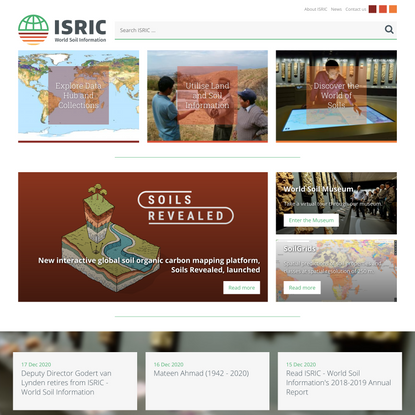 ISRIC-World Soil Information