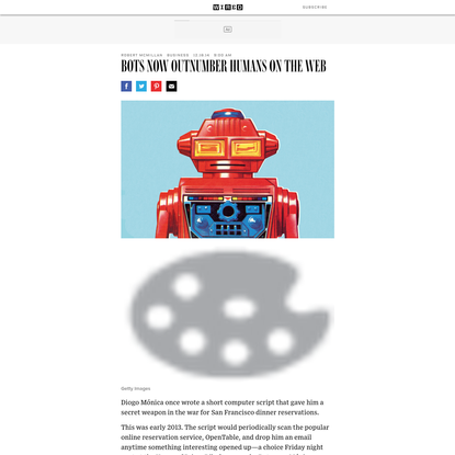 Bots Now Outnumber Humans on the Web