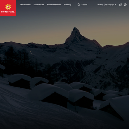 Switzerland Travel & Vacation | Switzerland Tourism