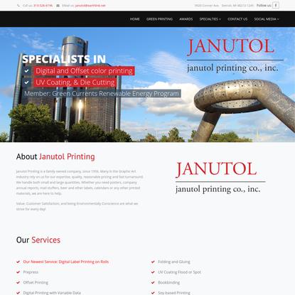 Janutol Printing