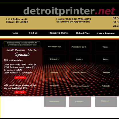 Printing Service for Business in Detroit MI