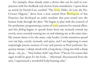 """William Burroughs sur le """"Sonic Dildo"""""""