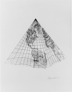 Agnes Denes - Isometric Systems in Isotropic Space: Map Projections from the Study of Distortions Series, 1973-1979