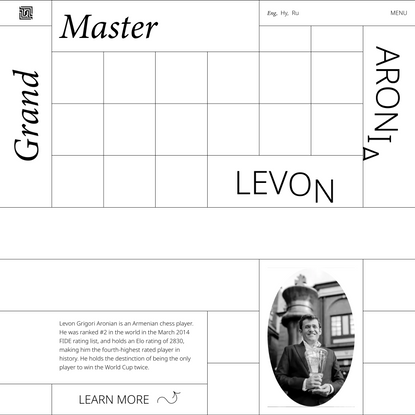 Levon Aronian - Grand Master