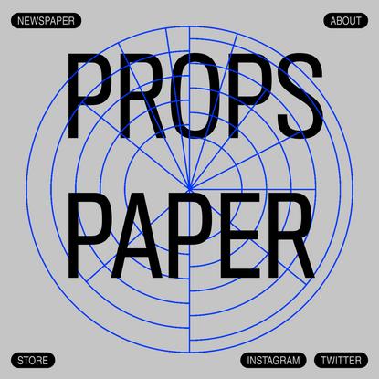 PROPS PAPER