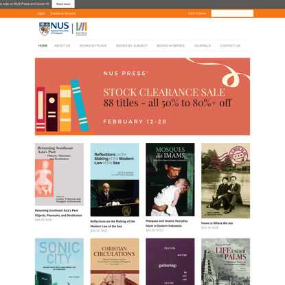 NUS Press - Publishing in Asia, on Asia, for Asia and the World