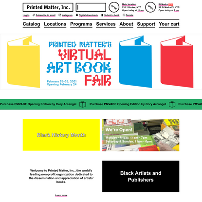 Home - Printed Matter
