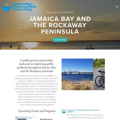 Jamaica Bay-Rockaway Parks Conservancy