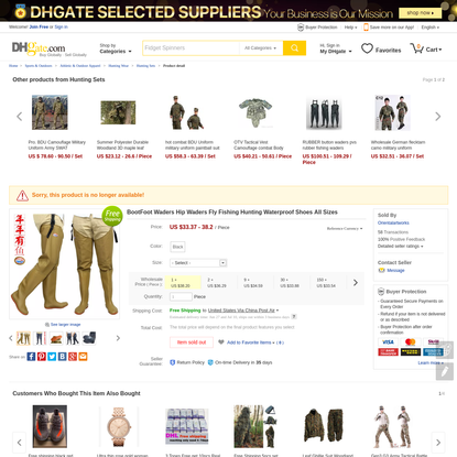 2017 Bootfoot Waders Hip Waders Fly Fishing Hunting Waterproof Shoes All Sizes From Orientalartworks, $33.37   Dhgate.Com