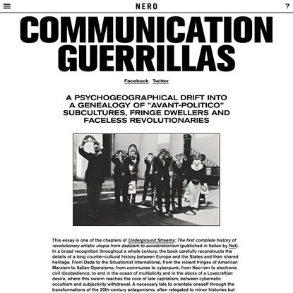 Communication Guerrillas   NERO