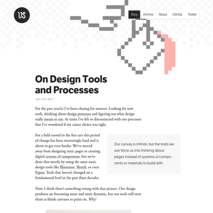 On Design Tools and Processes