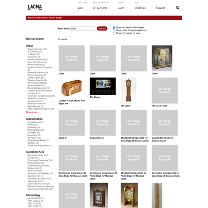 Site | LACMA Collections