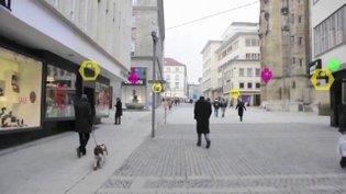 Augmented Reality Navigation - Interface Demo