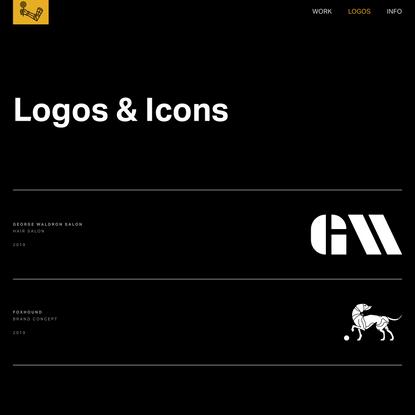 Logos & Icons - Nick Vicente Design Studio