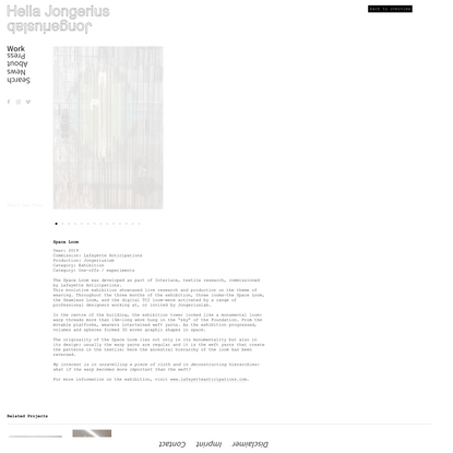 Space Loom |Jongeriuslab design studio