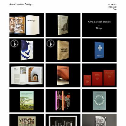 Anna Larsson Design.   Grafisk formgivare i Göteborg