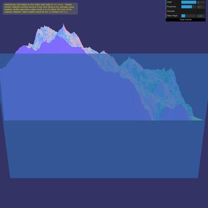 Terrain Generator in WebGL
