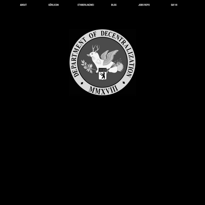 Department of Decentralization