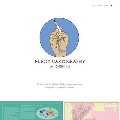 Home | M. Roy Cartography & Design
