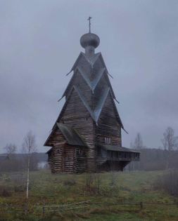 Abandoned church in Russia
